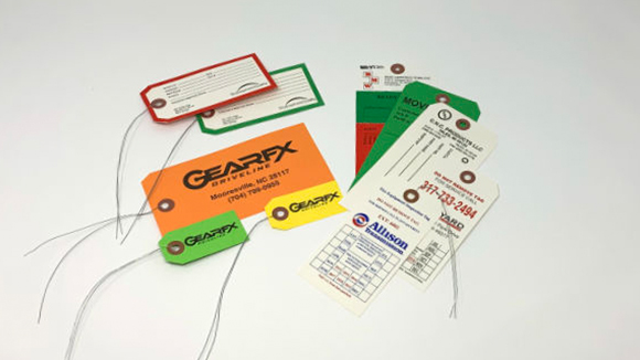 Paper and Tyvek Tags